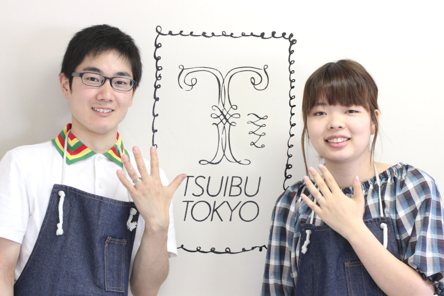 手作り結婚指輪お客様写真19
