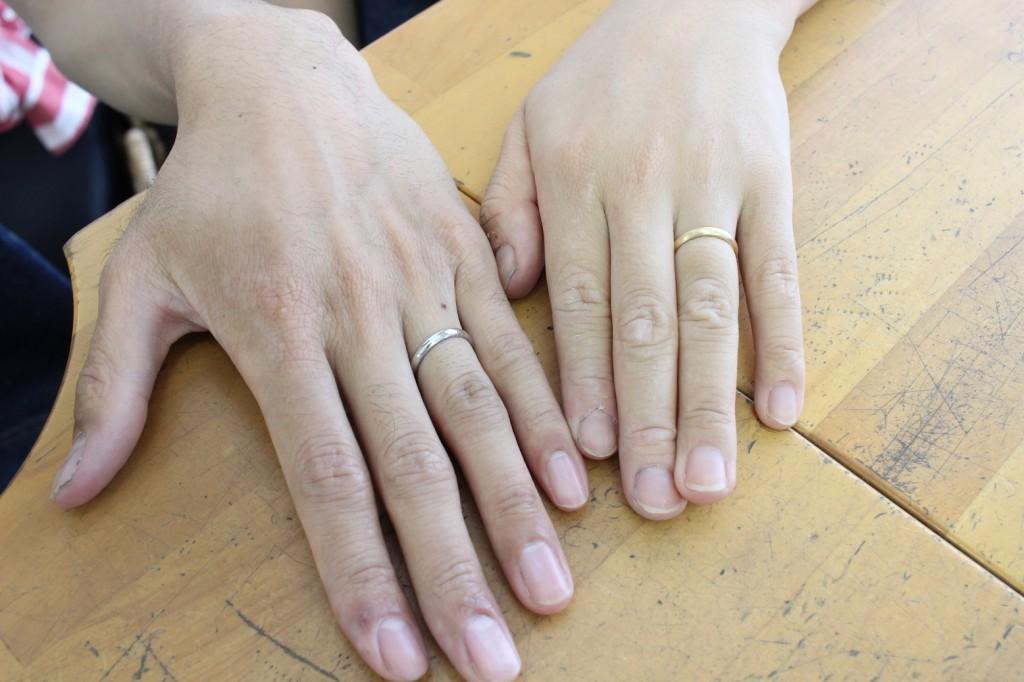 手作り結婚指輪お客様写真55