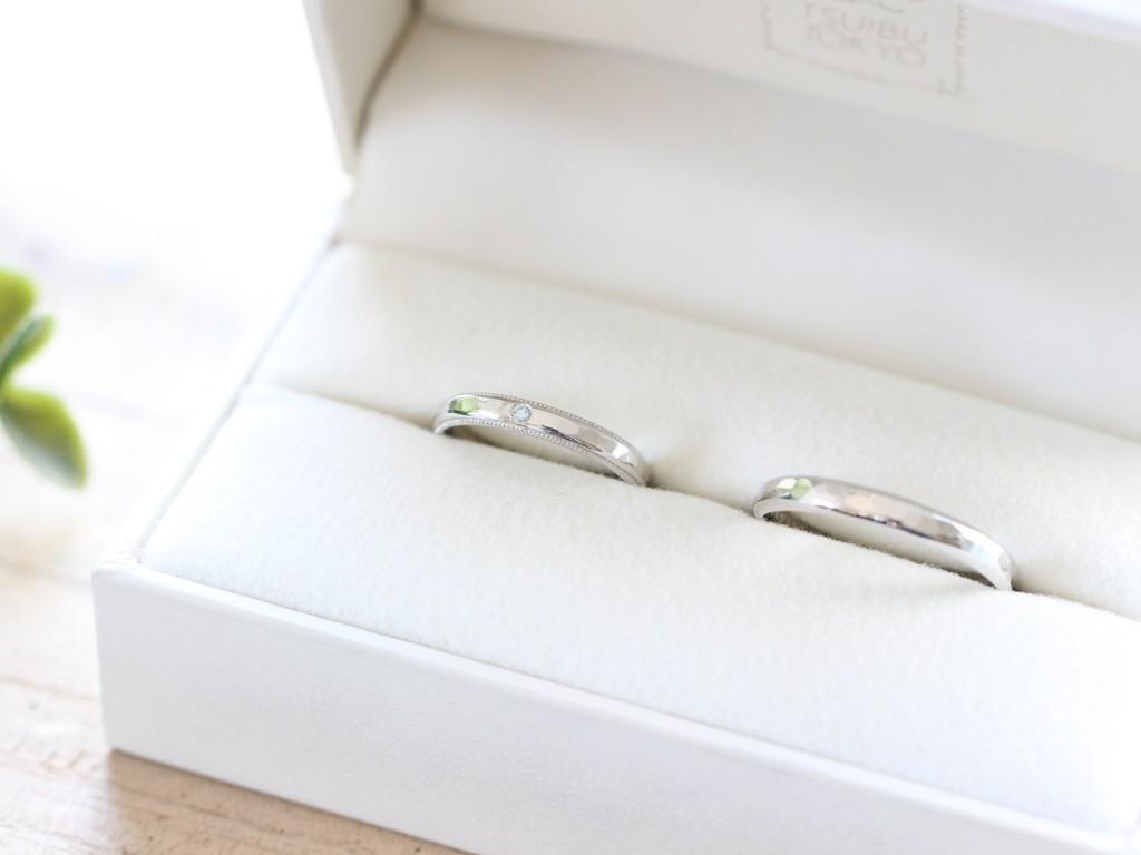 手作り結婚指輪お客様写真66