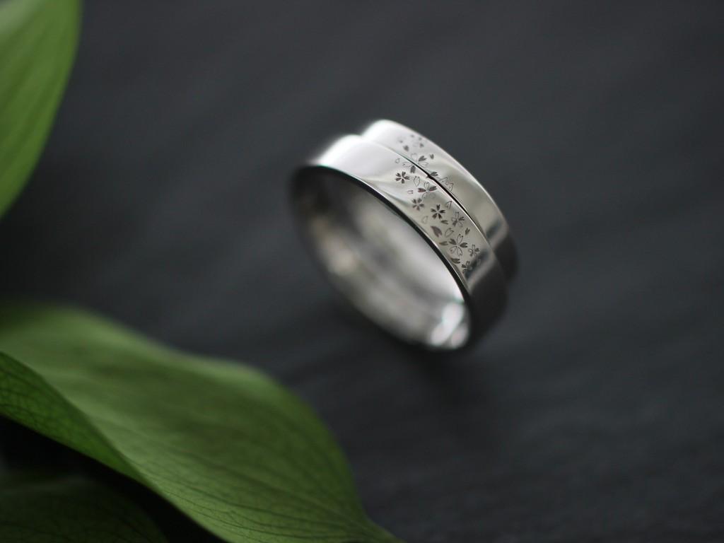 手作り結婚指輪お客様写真80