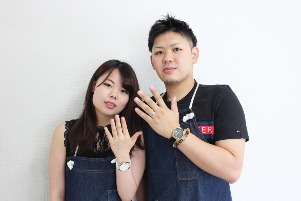 手作り結婚指輪お客様写真90
