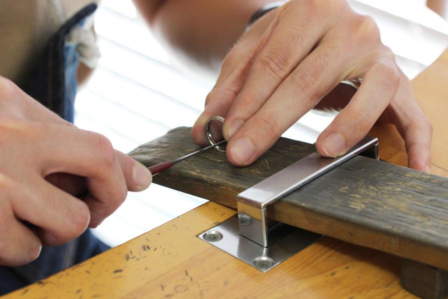 手作り結婚指輪お客様写真116