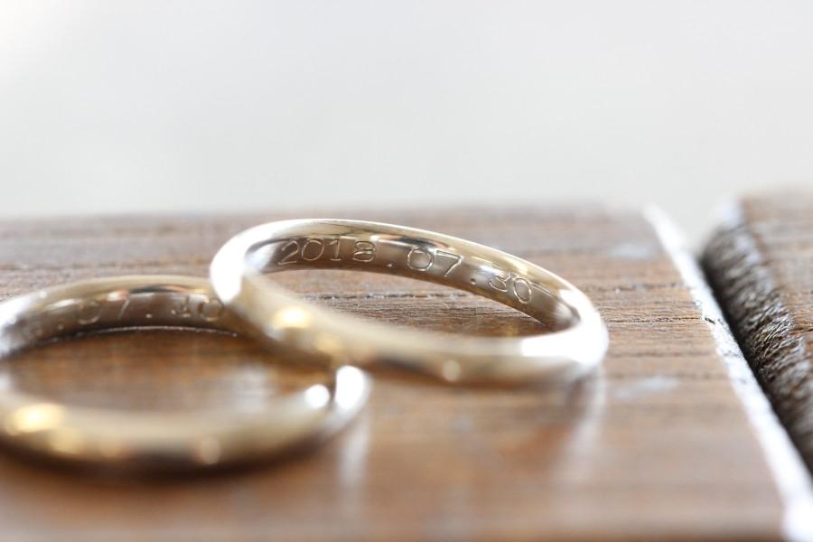 手作り結婚指輪お客様写真119