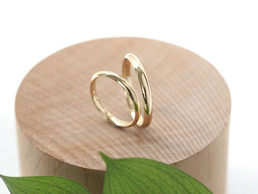 内側印字のご結婚指輪1