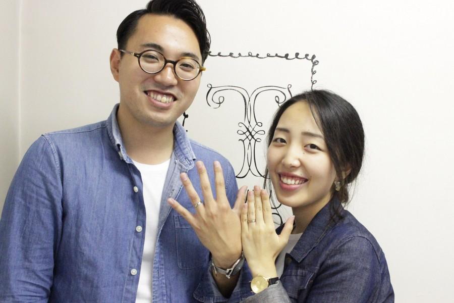 手作り結婚指輪お客様写真120