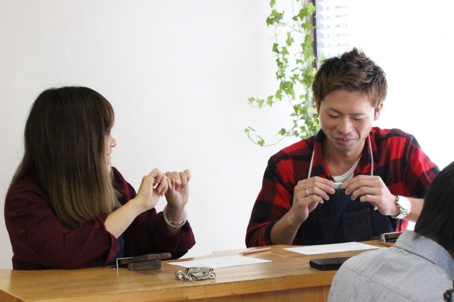 手作り結婚指輪Y様4
