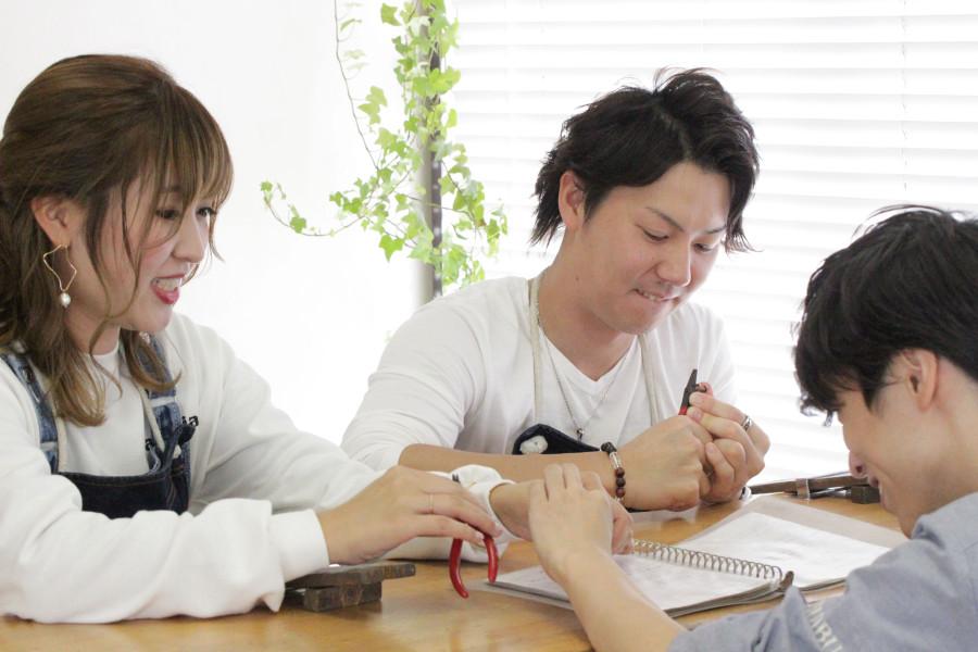 手作り結婚指輪K様4