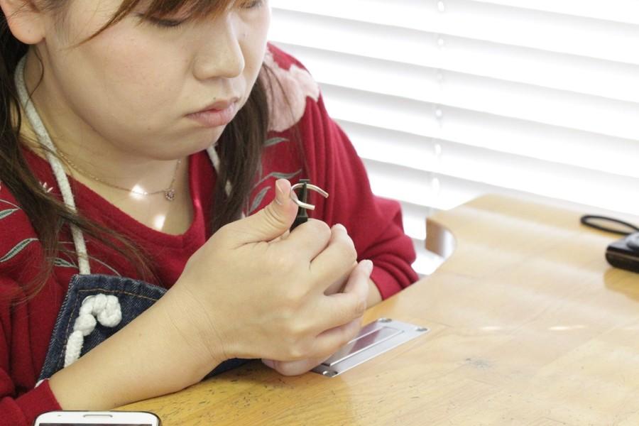 手作り結婚指輪A様5