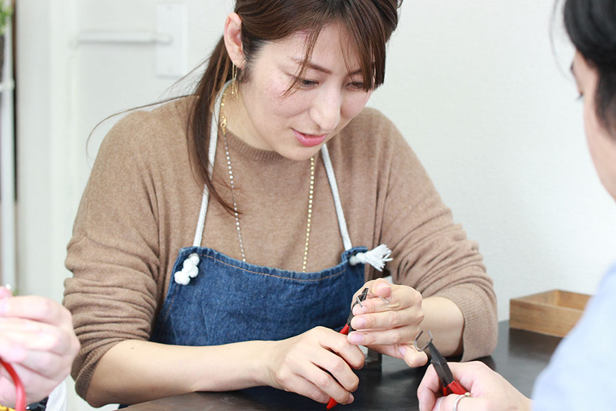 手作り結婚指輪T様9