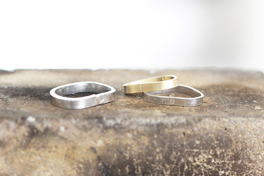 手作り結婚指輪T様12