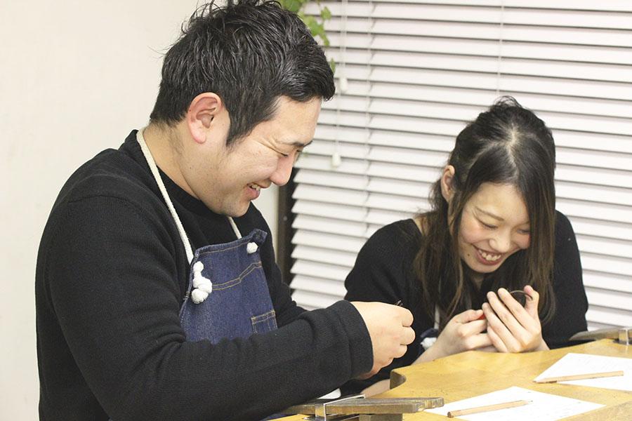 手作り結婚指輪M様4