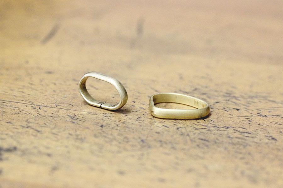 手作り結婚指輪M様7