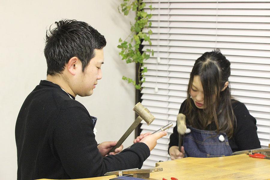 手作り結婚指輪M様9