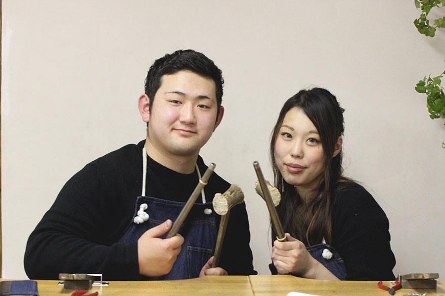 手作り結婚指輪M様10