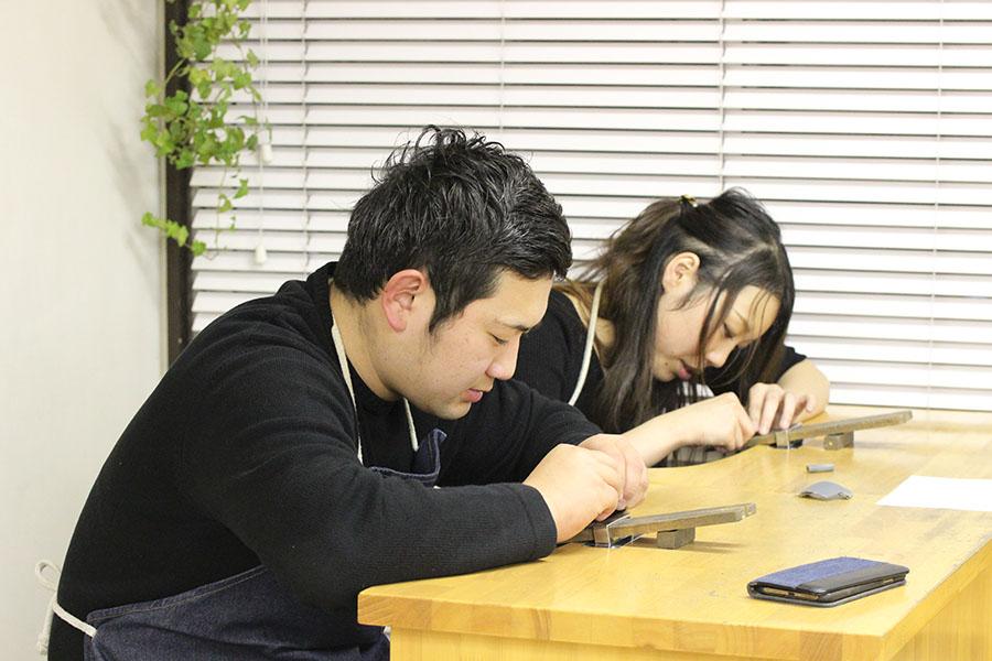 手作り結婚指輪M様14