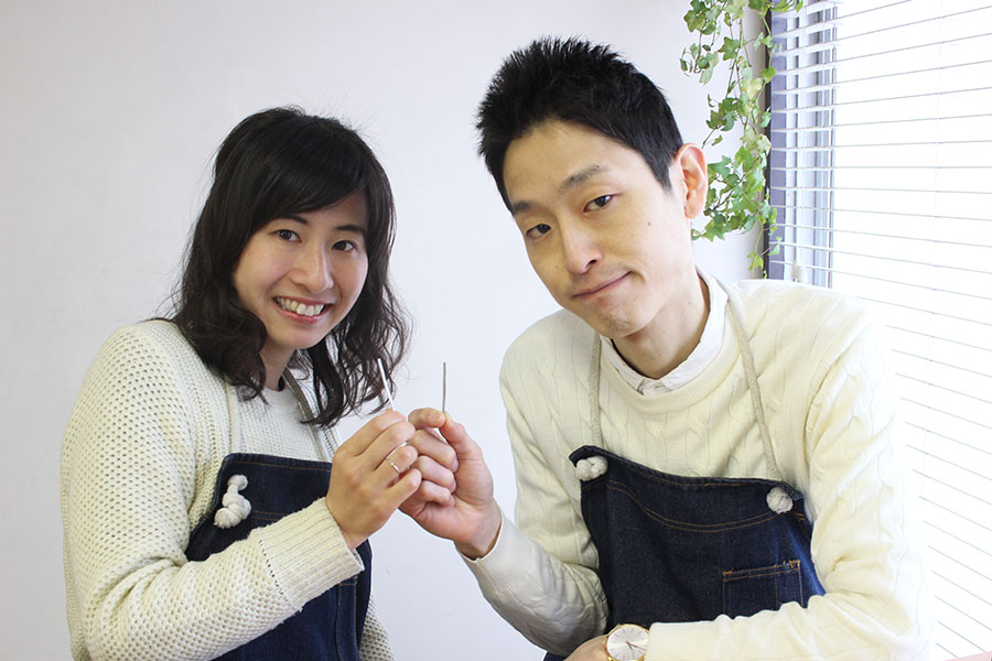 手作り結婚指輪T様2