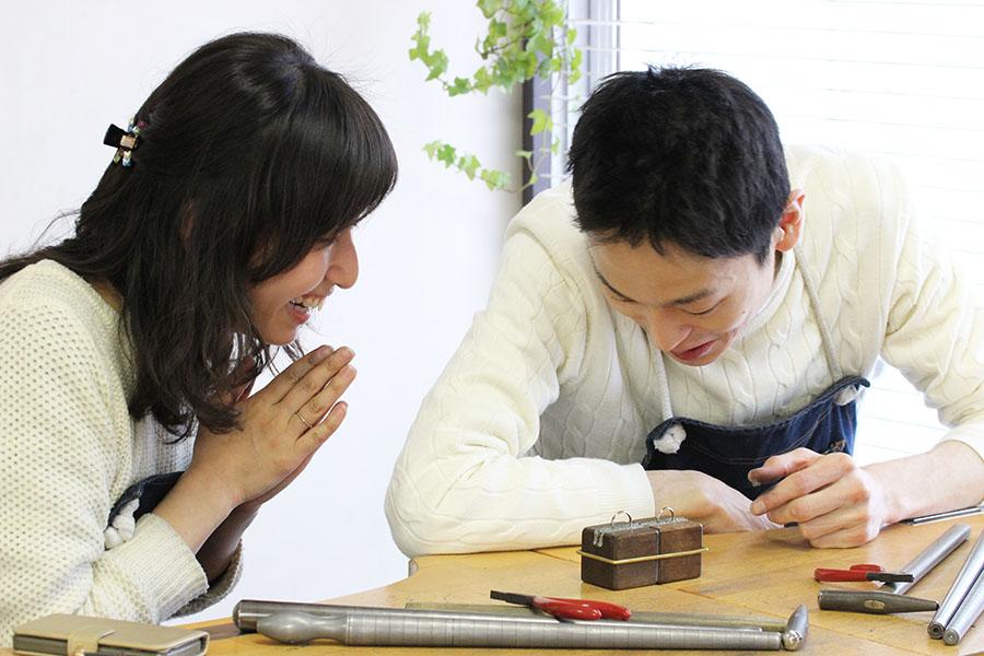 手作り結婚指輪T様17