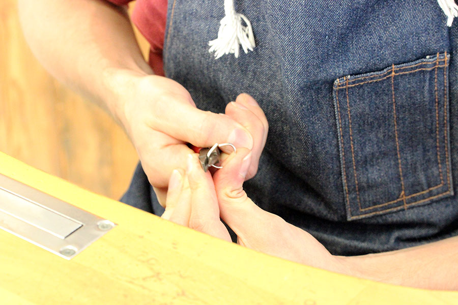 手作り結婚指輪K様3