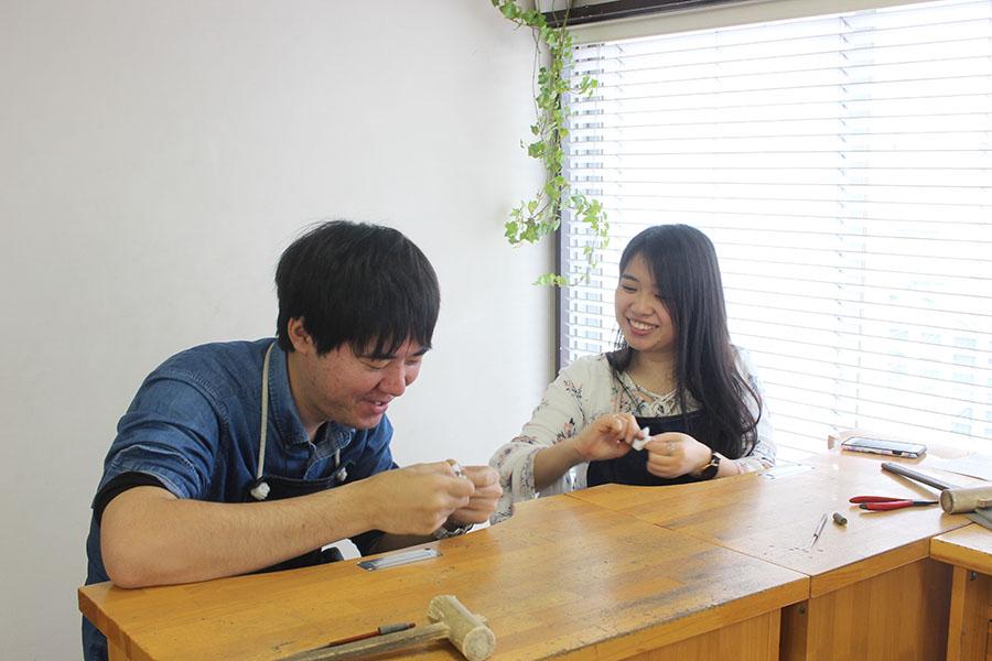 手作り結婚指輪Y様12