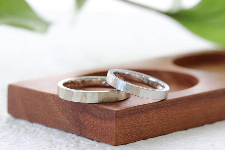 手作り結婚指輪S様14