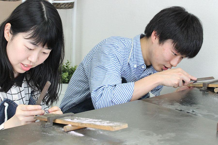 手作り結婚指輪F様3
