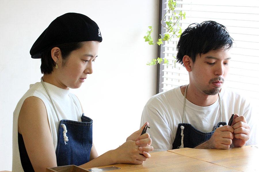 手作り結婚指輪H様4