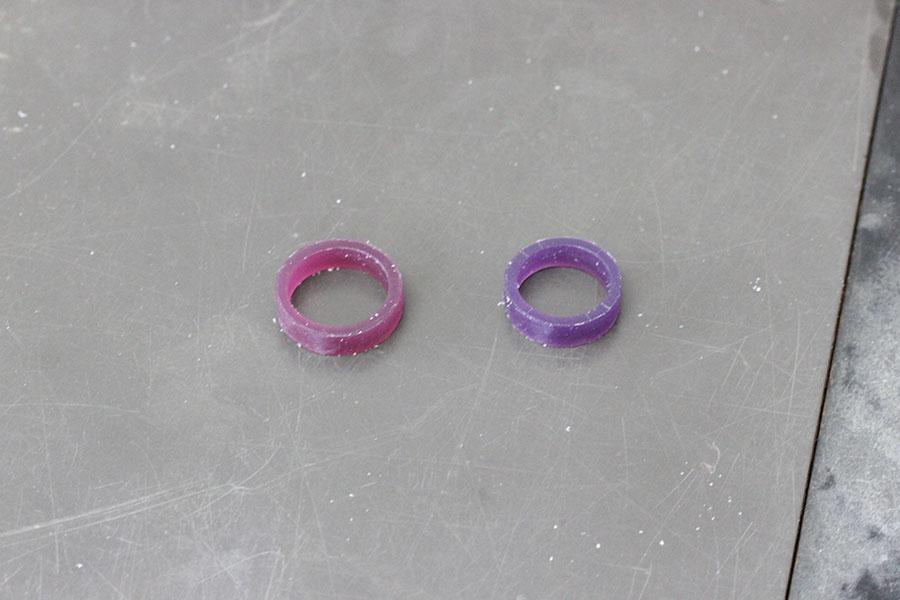 手作り結婚指輪F様5