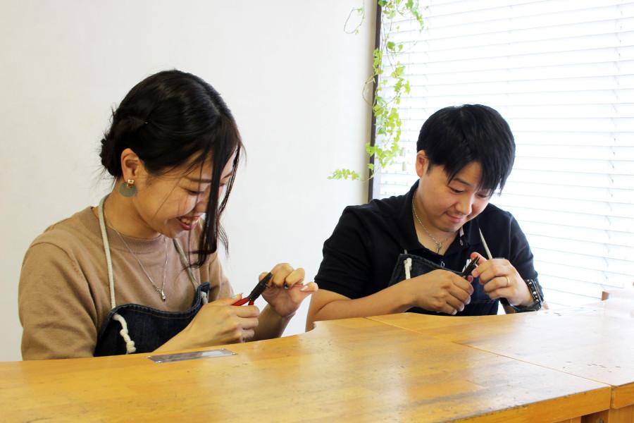 手作り結婚指輪K様5