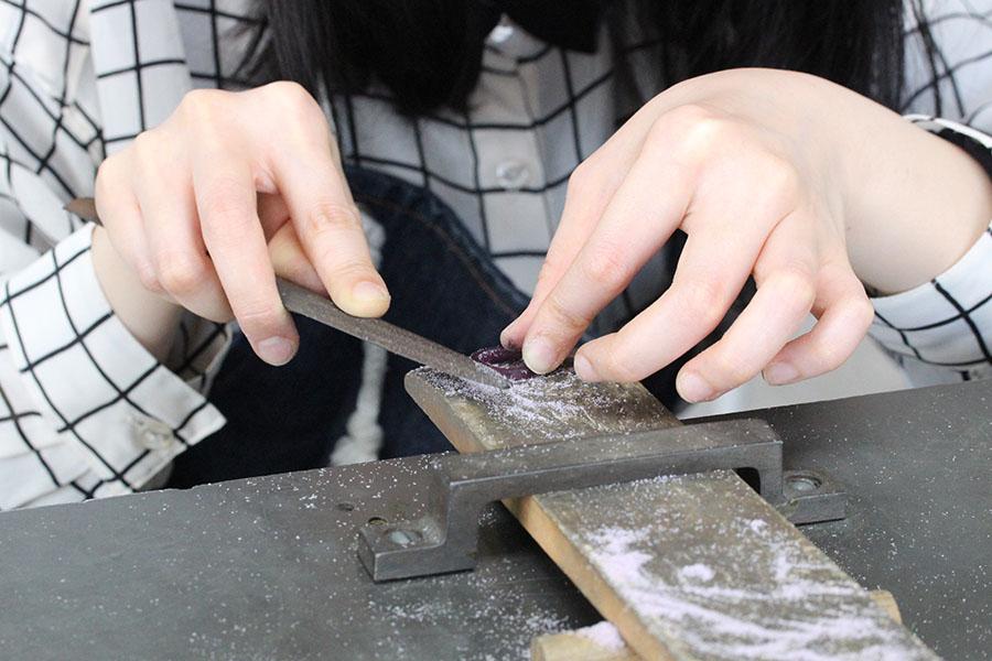手作り結婚指輪F様7