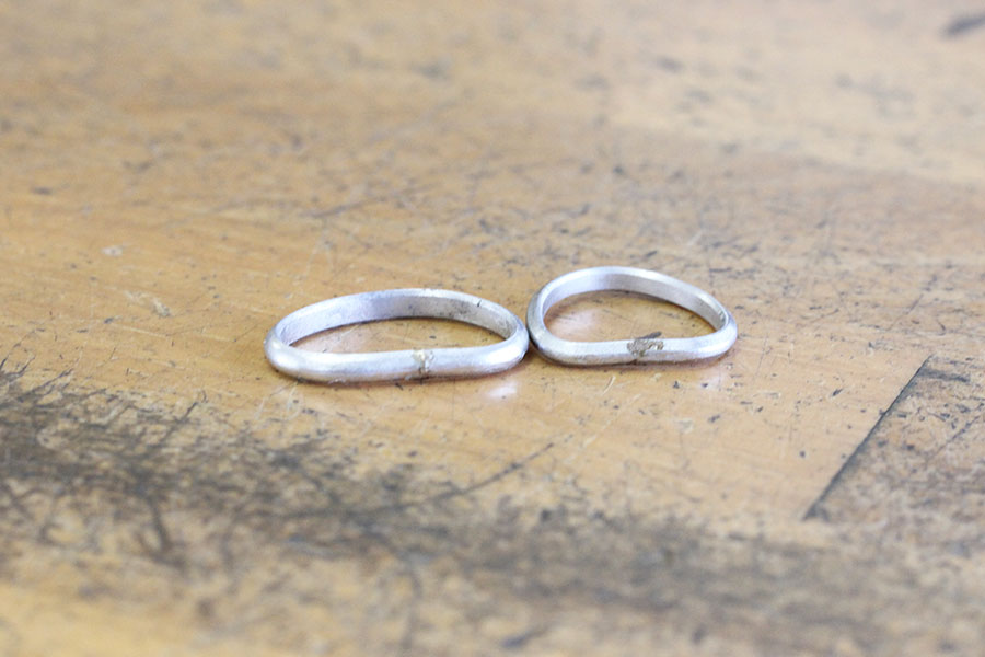 手作り結婚指輪Y様16