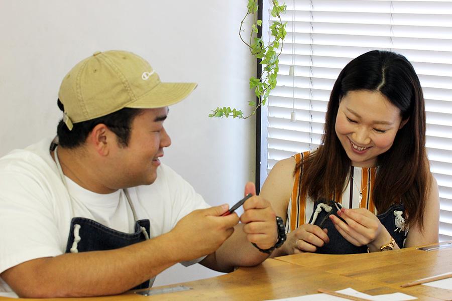 手作り結婚指輪M様3