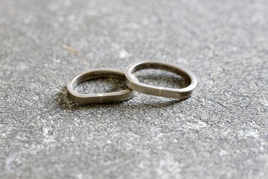 手作り結婚指輪Y様10