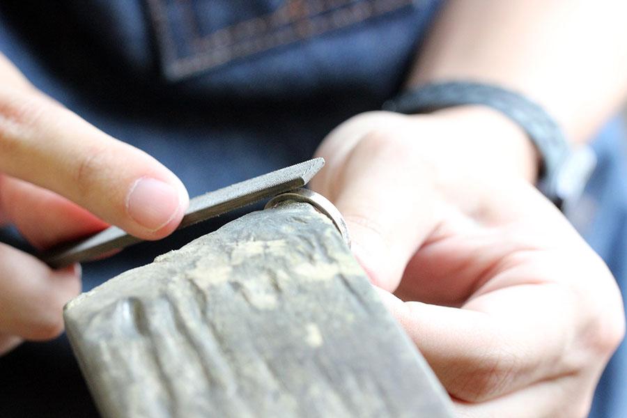 手作り結婚指輪Y様13