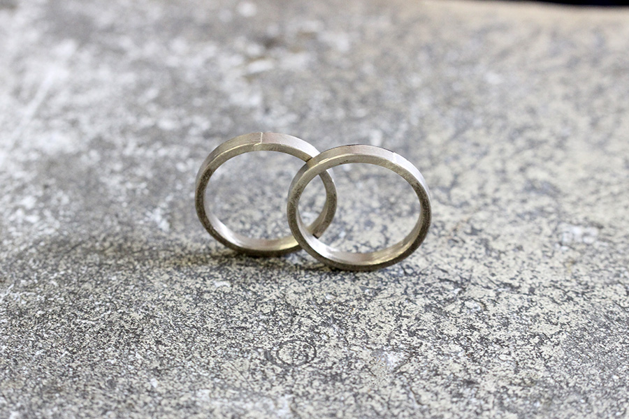 手作り結婚指輪Y様21