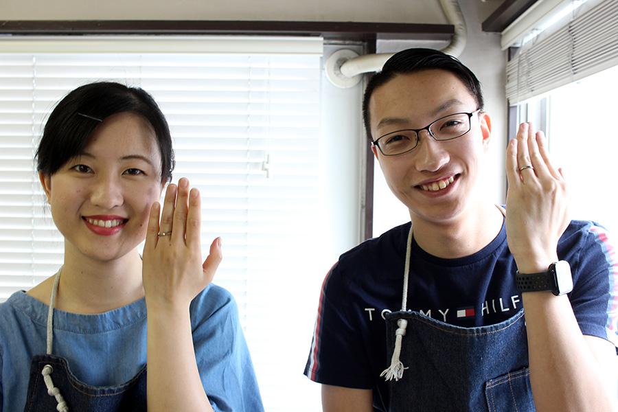 手作り結婚指輪Y様22