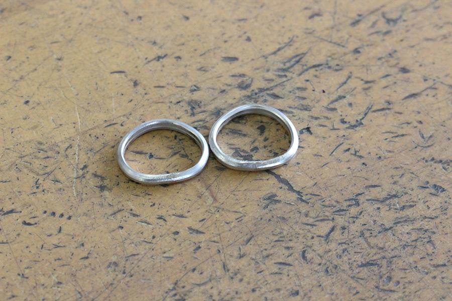 手作り結婚指輪T様7
