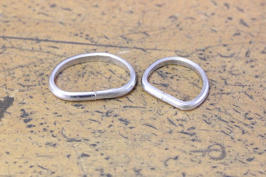 手作り結婚指輪K様8