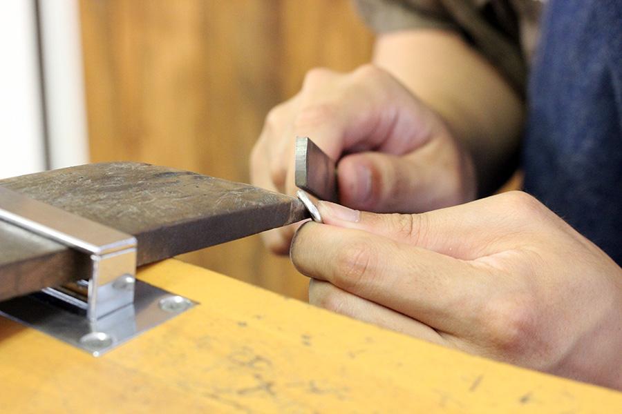 手作り結婚指輪K様10