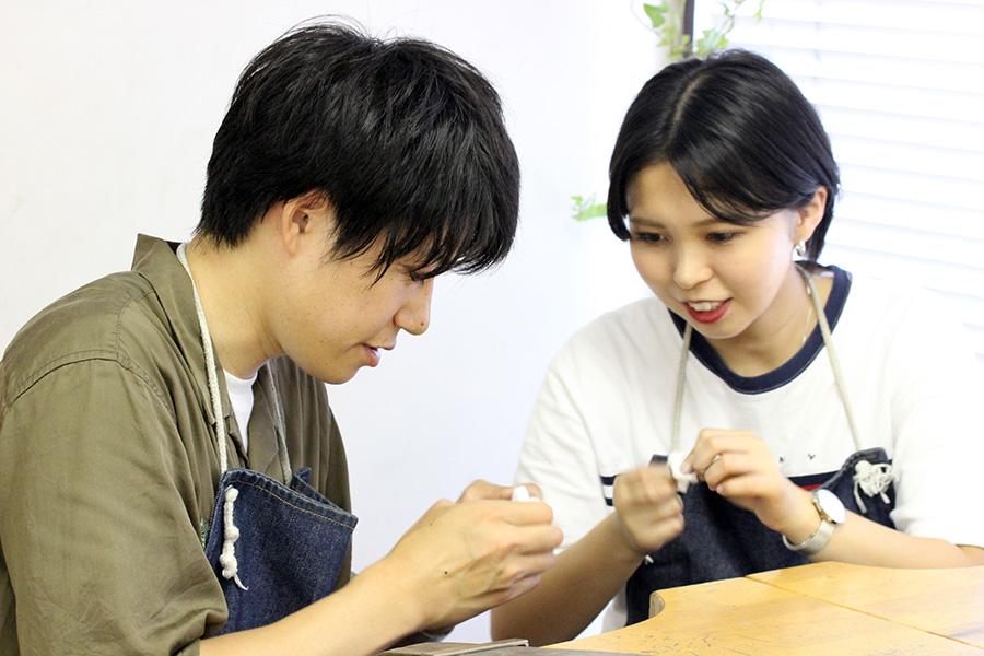 手作り結婚指輪K様16