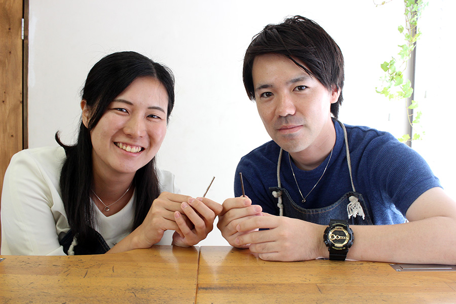 手作り結婚指輪E様2
