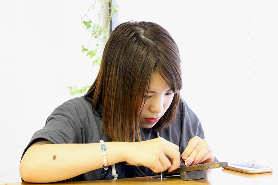 手作り結婚指輪T様14