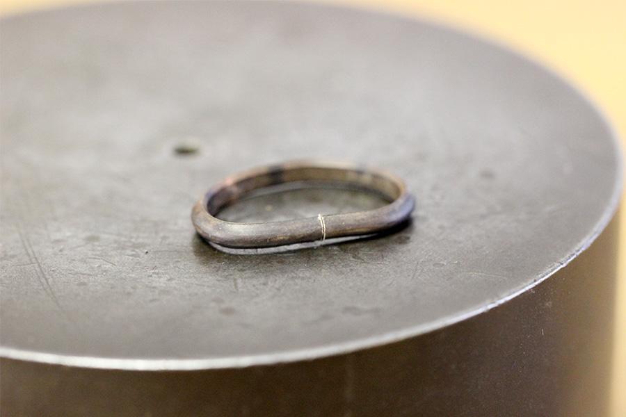 手作り婚約指輪S様5
