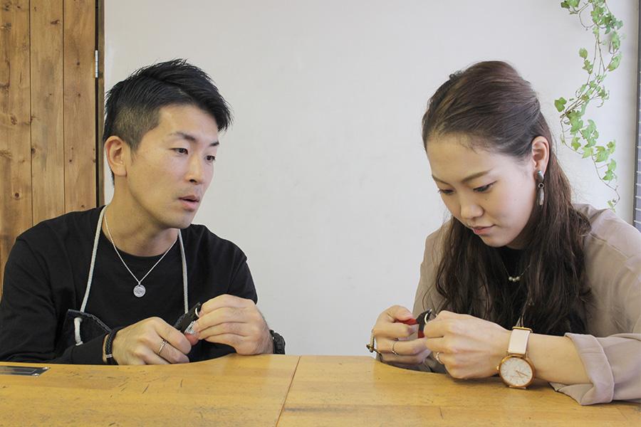 手作り結婚指輪T様6