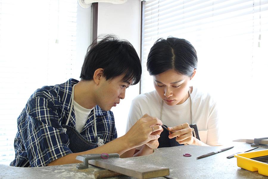 手作り結婚指輪T&M様9