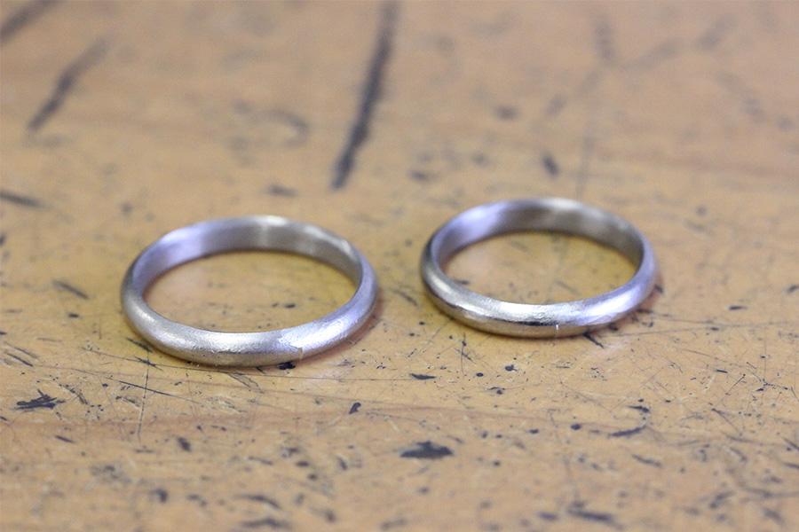 手作り結婚指輪T様11