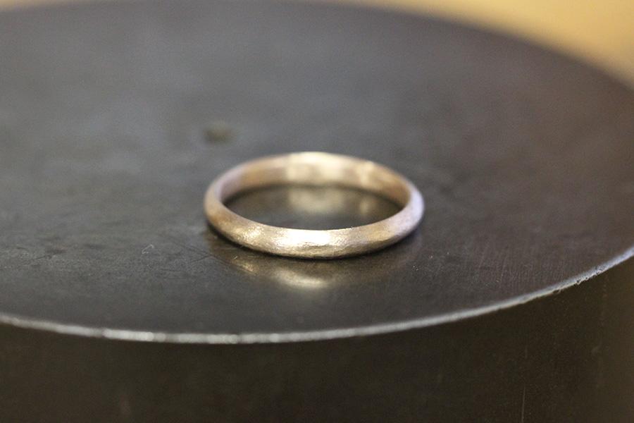 手作り婚約指輪S様11