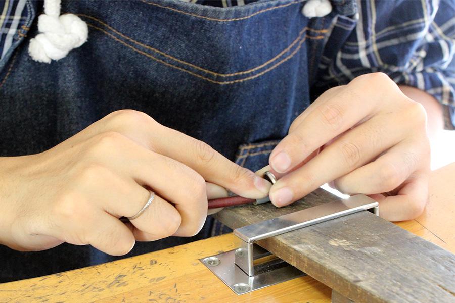 手作り結婚指輪T&M様15