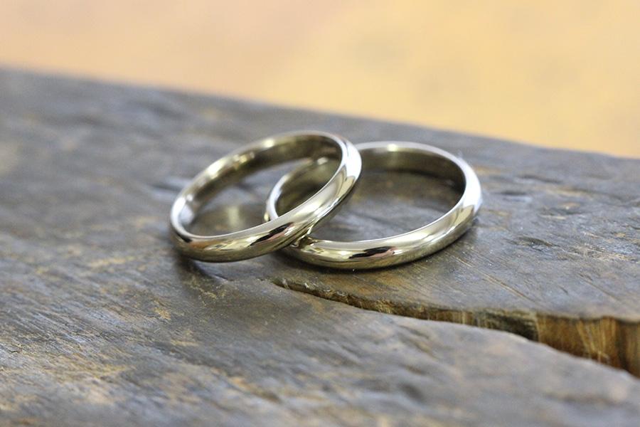 手作り結婚指輪T様16