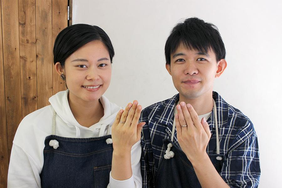 手作り結婚指輪T&M様17