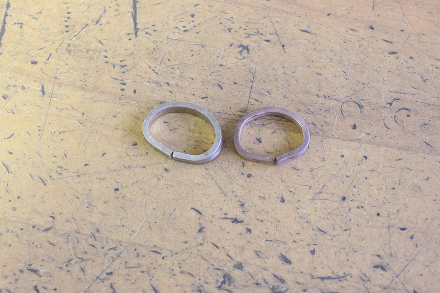手作り結婚指輪O様5